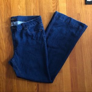 Forever 21 Plus Flare Jeans